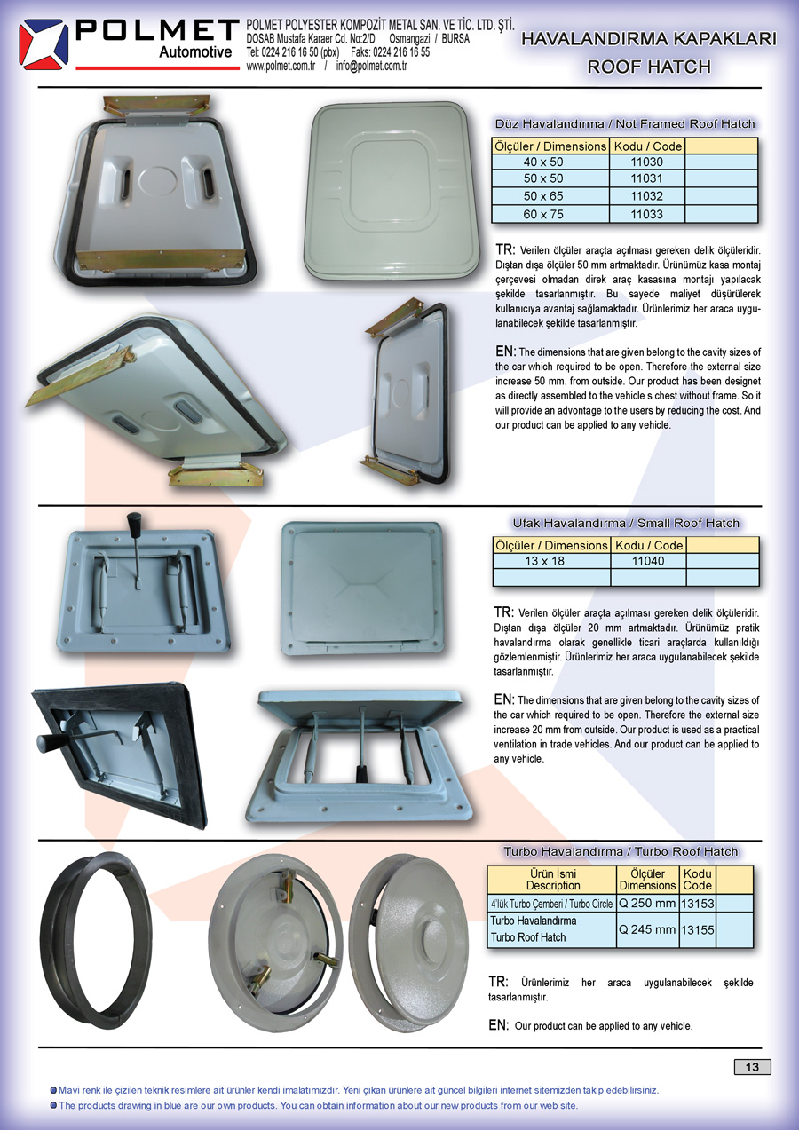 aoutobus roof hatch, midibus foof hatch, metal roof hatch, Hair roof hatch, frameless vent cover, small roof hatch